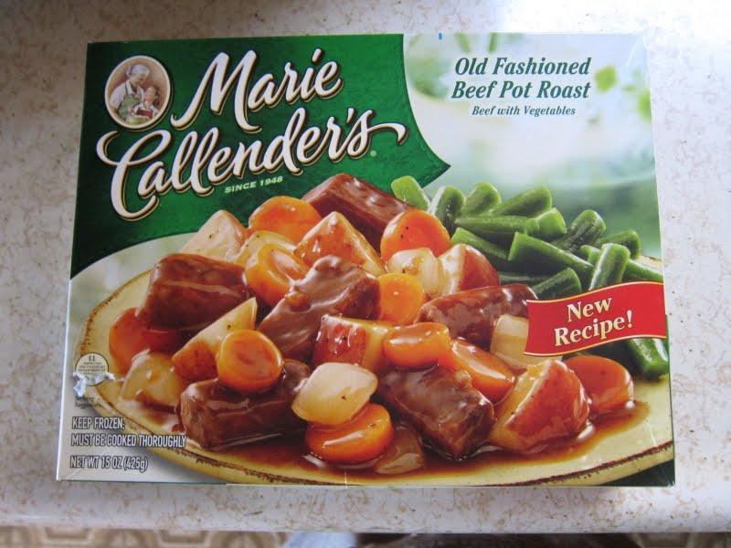 Old Frozen Dinner Brands  Marie Callender