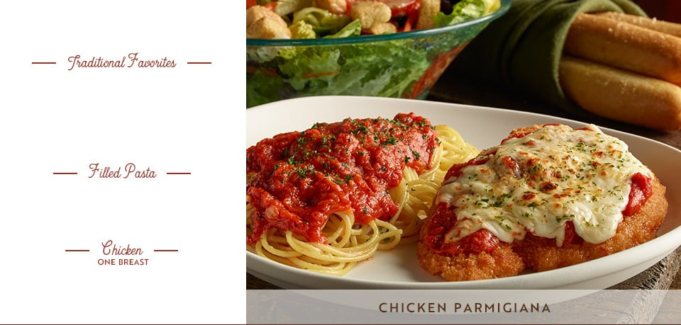 Olive Garden Early Dinner Duos  Early Dinner Duos Specials