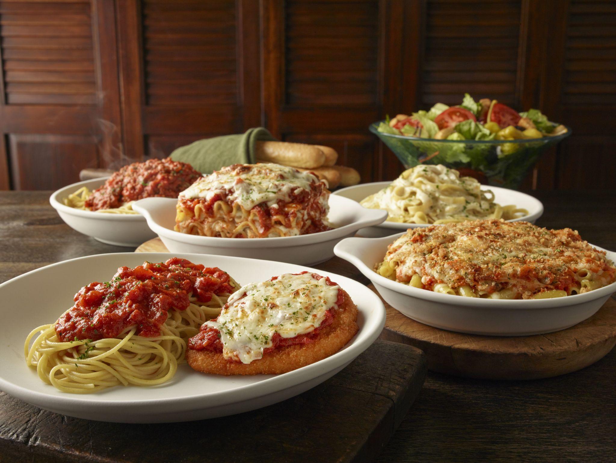 Olive Garden Early Dinner Duos  Olive Garden la tradición de innovar con sus platos