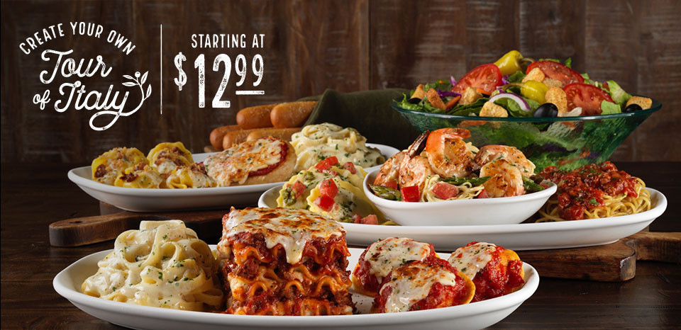 Olive Garden Early Dinner Special  Olive Garden Lunch Specials Garden for your Inspiration