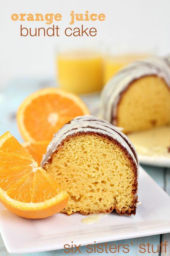 Orange Juice Cake  Pinterest • The world's catalog of ideas