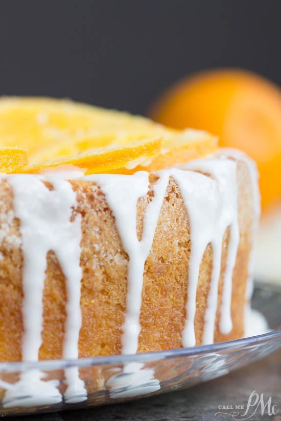Orange Juice Cake  Old Fashioned Buttermilk Orange Juice Pound Cake Call Me PMc