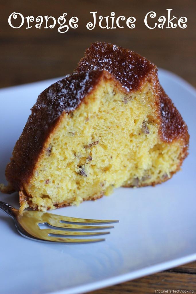 Orange Juice Cake  Orange Juice Cake