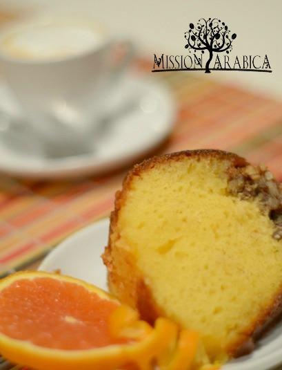 Orange Juice Cake  Orange Juice Cake Mission Arabica