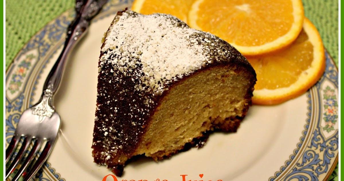 Orange Juice Cake  Sweet Tea and Cornbread Orange Juice Cake