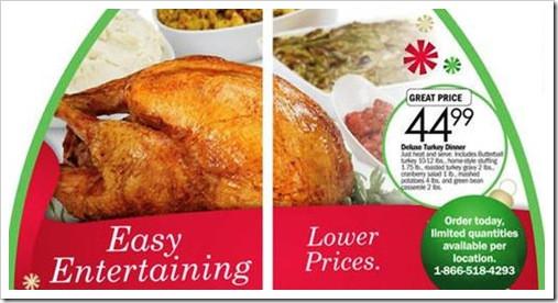 Order Thanksgiving Dinner Safeway  Meijer Thanksgiving Dinners 2011