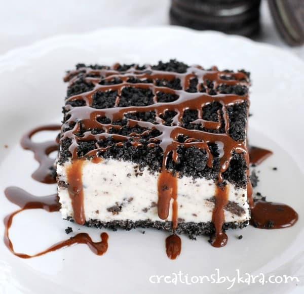 Oreo Ice Cream Dessert  Frozen Oreo Dessert