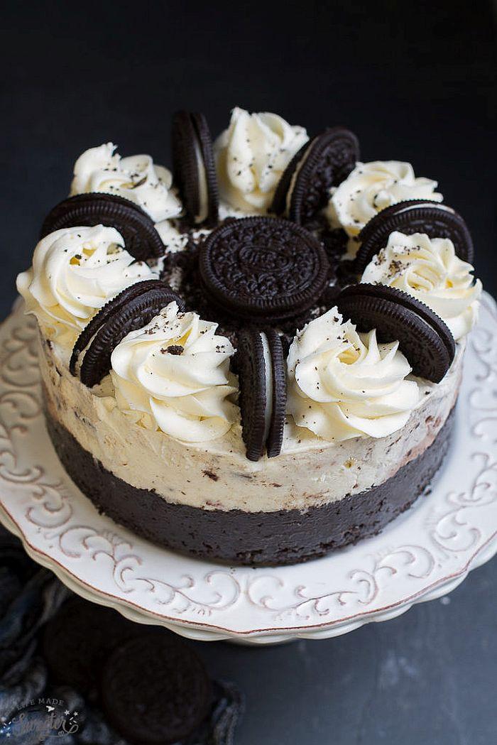 Oreo Ice Cream Dessert  Make Your Next Party A Hit With DIY Ice Cream Cakes