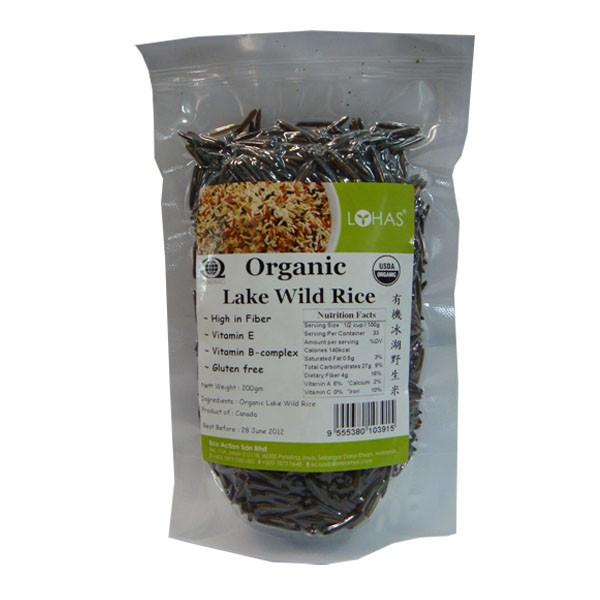 Organic Wild Rice  Organic Lake Wild Rice Lohas