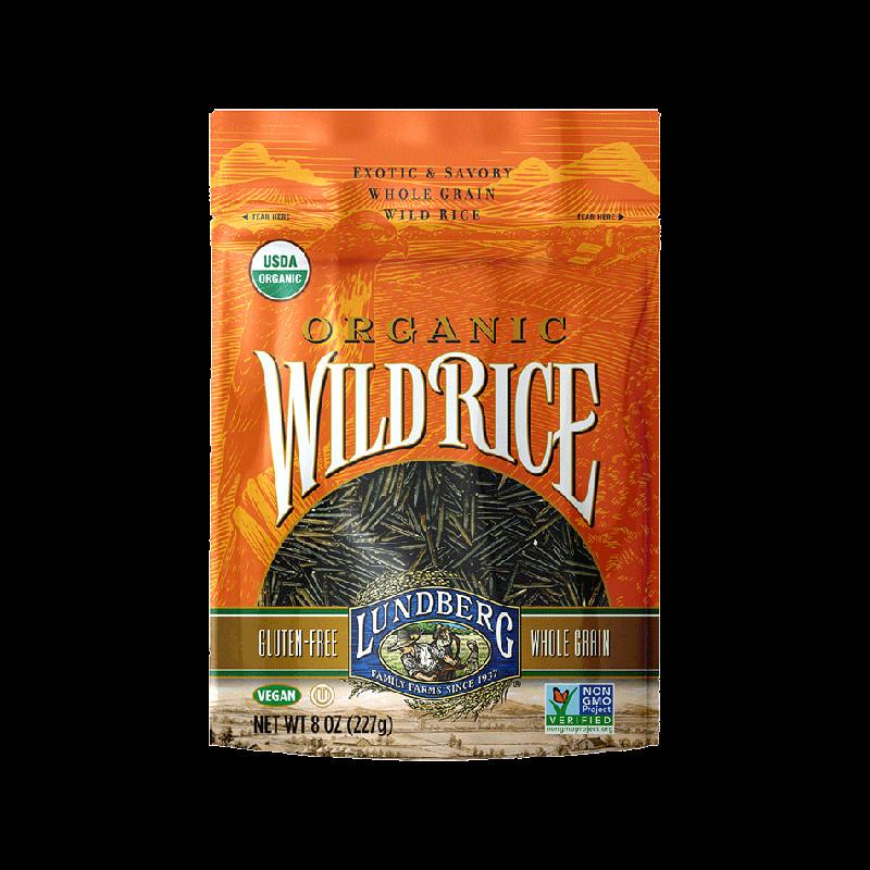 Organic Wild Rice  ORGANIC WILD RICE