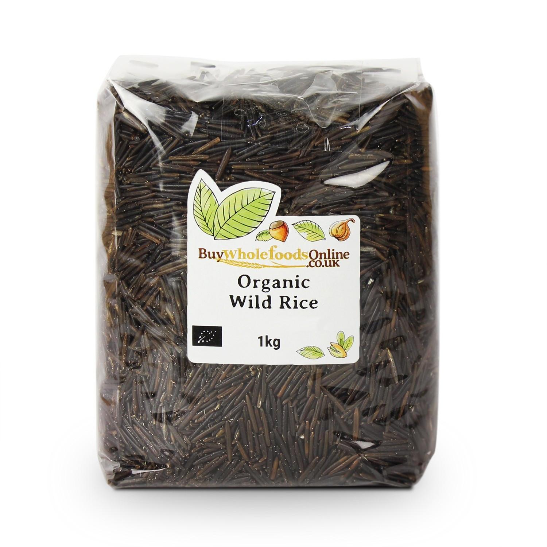 Organic Wild Rice  Buy Organic Wild Rice UK 250g 25kg