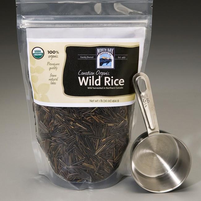 Organic Wild Rice  Canadian Organic Wild Rice at NorthBayTrading Free