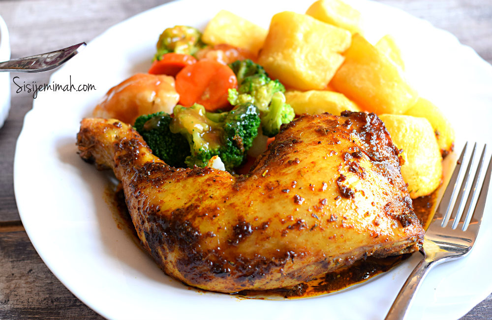 Oven Baked Chicken Quarters  Sisi Jemimah Conquering Culinary Fears e Recipe At A