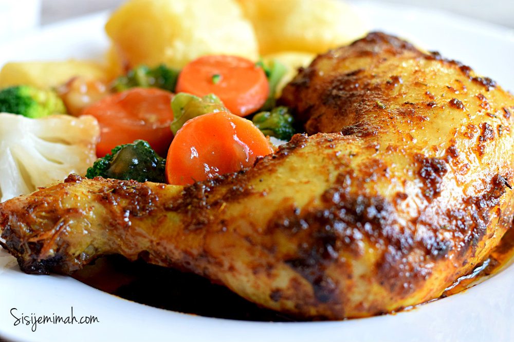 Oven Baked Chicken Quarters  Chicken Recipes Archives Sisi Jemimah