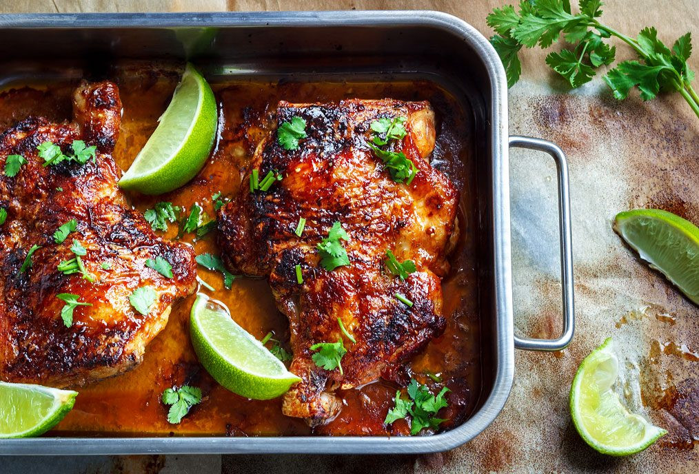 Oven Baked Chicken Quarters  Oven Roasted Chicken Recipe — Eatwell101