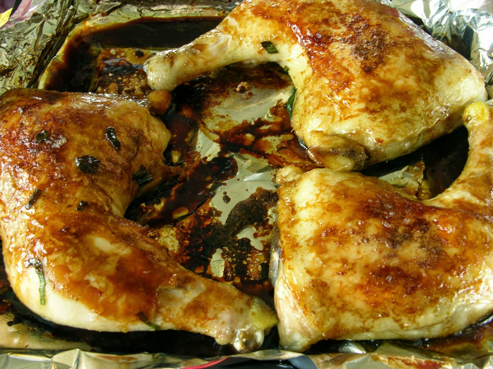 Oven Baked Chicken Quarters  Oven Roasted Chicken Leg Quarters 烤鸡大腿