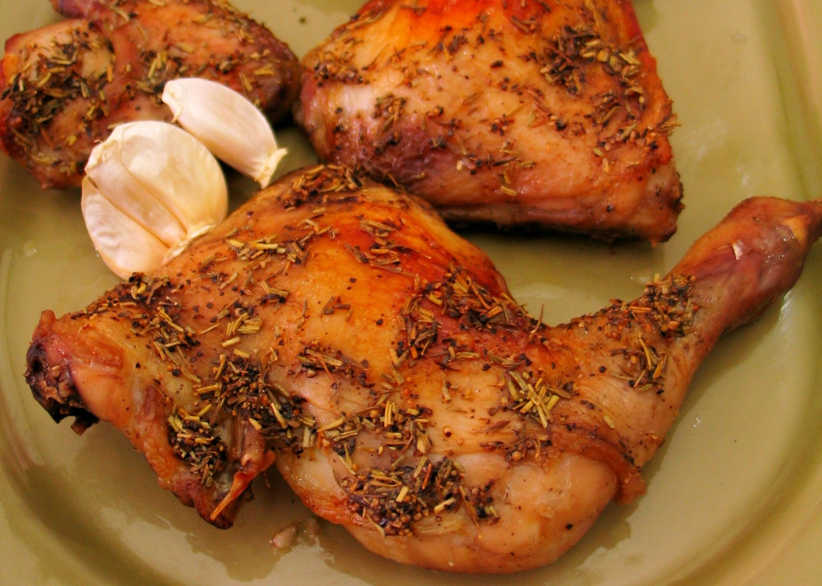 Oven Baked Chicken Quarters  Food Notebook Oven Roasted Chicken Quarters