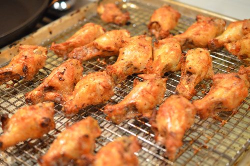 Oven Roasted Chicken Wings  Crispy Spicy Oven baked Chicken Wings