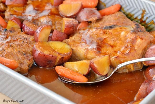 Oven Roasted Pork Chops  Oven Roasted Pork Chops The Gunny Sack