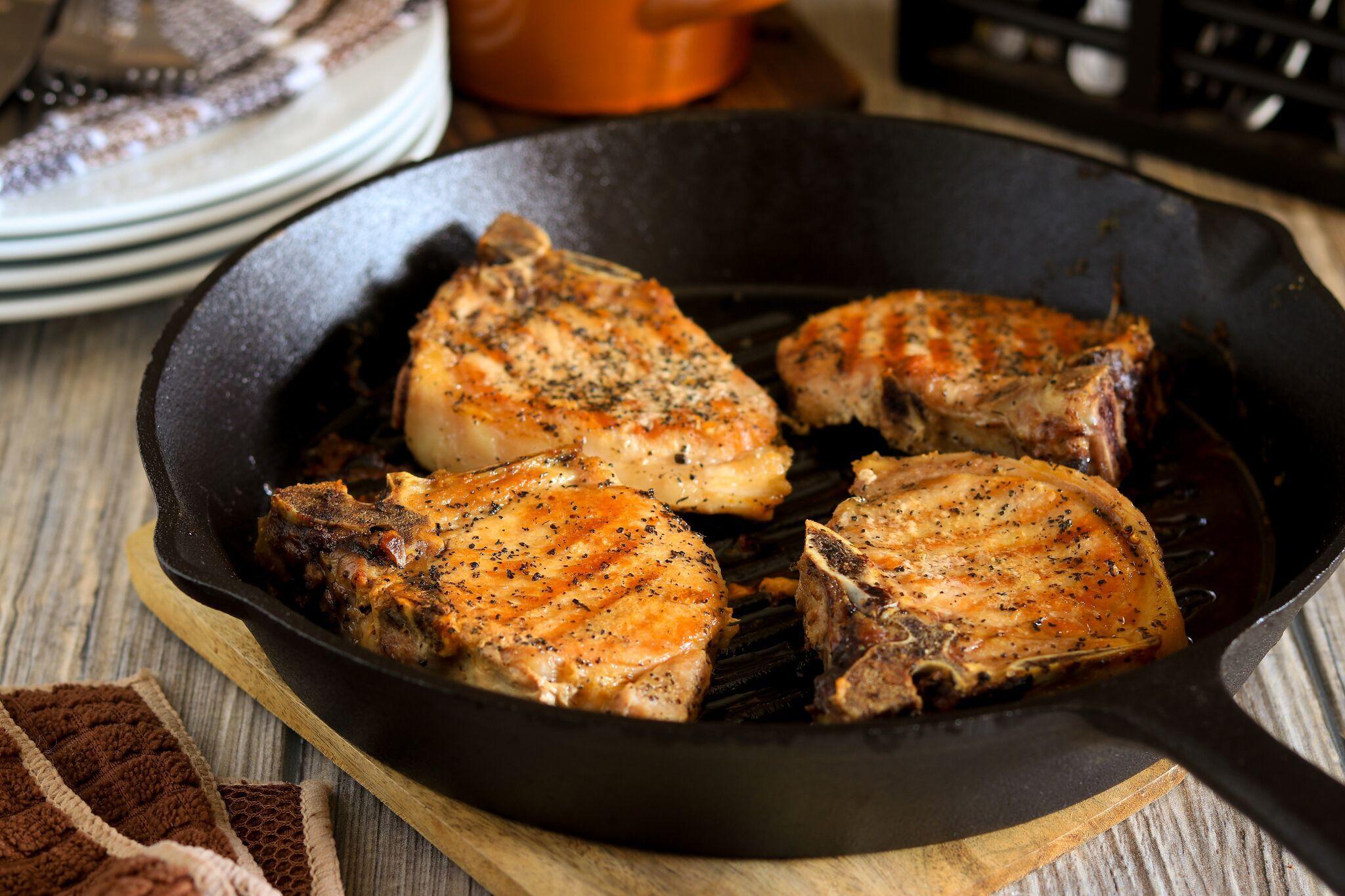 Oven Roasted Pork Chops  Oven Roasted Pork Chops Recipe