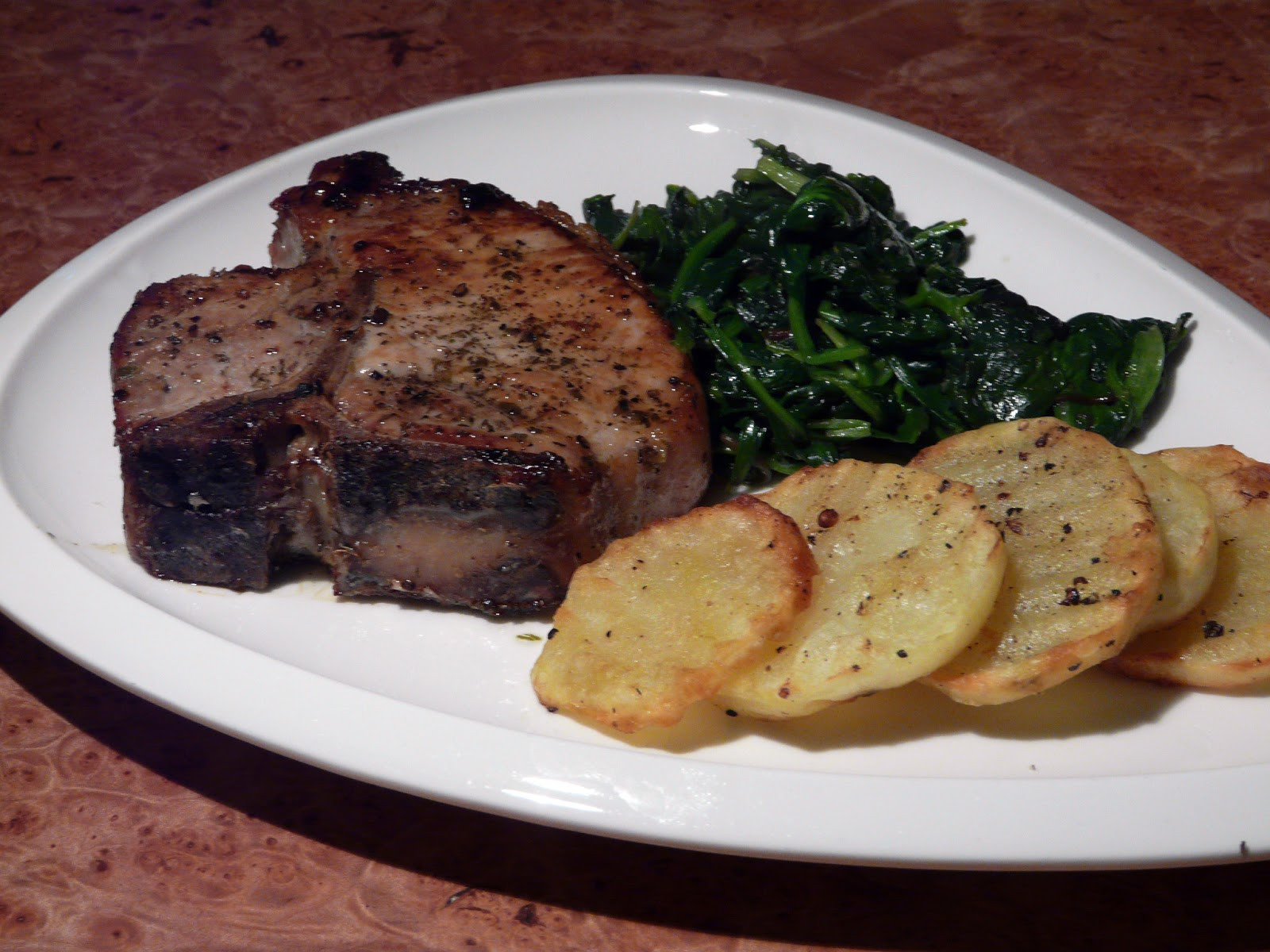 Oven Roasted Pork Chops  Thibeault s Table Pork and Beef Recent Meals 2