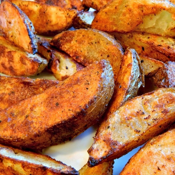 Oven Roasted Potato Wedges  Oven Baked Potato Wedges Recipe — Dishmaps