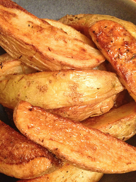 Oven Roasted Potato Wedges  WW – Oven Roasted Potato Wedges
