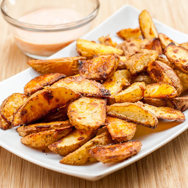 Oven Roasted Potato Wedges  15 Recipes to Celebrate National Potato Month Our Mini