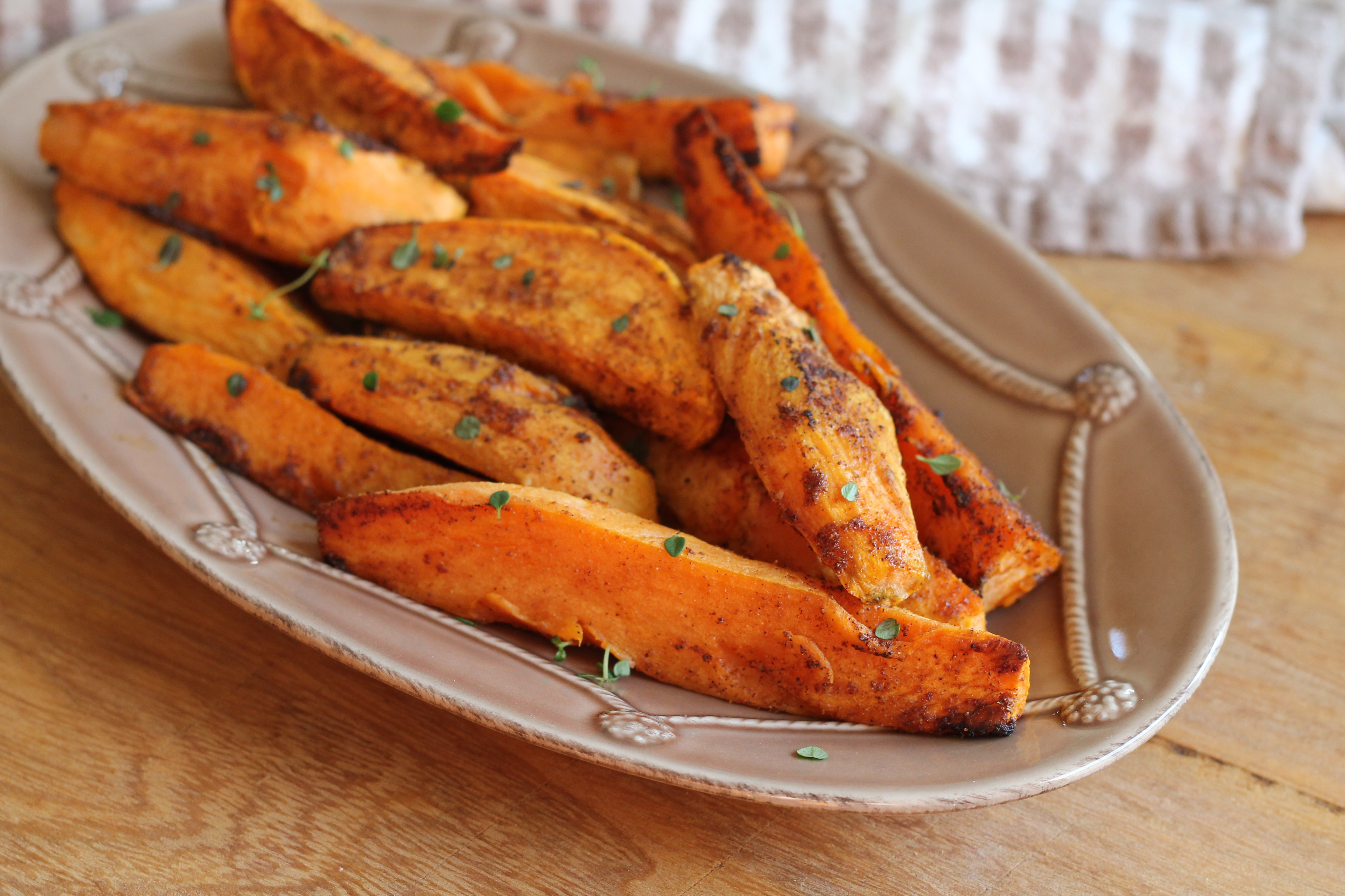 Oven Roasted Potato Wedges  Oven Baked Sweet Potato Wedges Hall Nesting