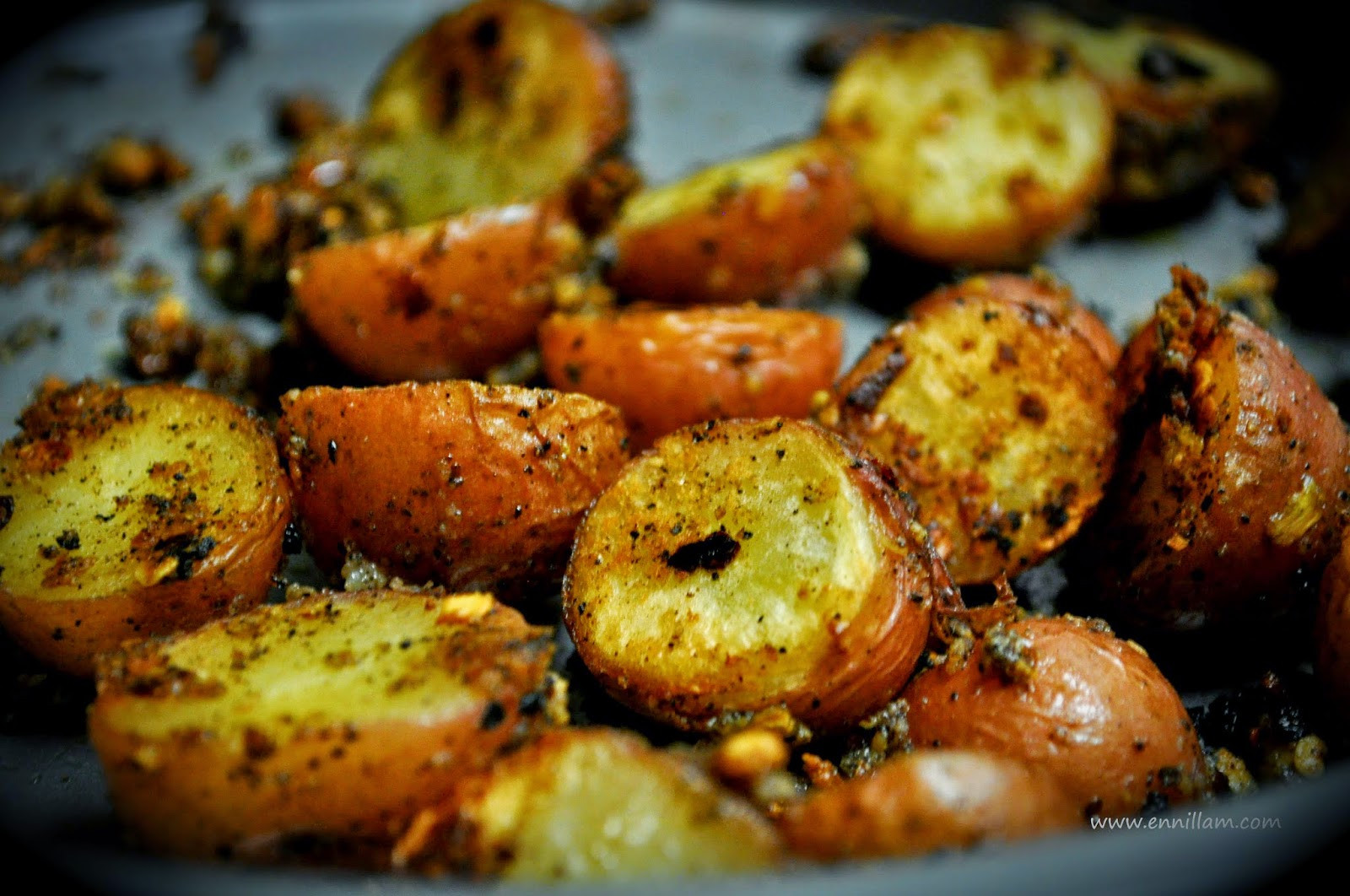 Oven Roasted Red Potatoes  Oven roasted red baby potatoes