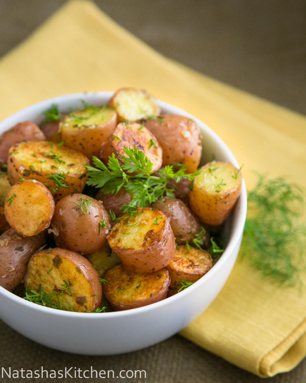 Oven Roasted Red Potatoes  Oven Roasted Baby Red Potatoes BigOven