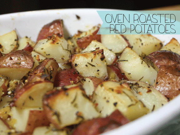 Oven Roasted Red Potatoes  Just A Darling Life Oven Roasted Red Potatoes