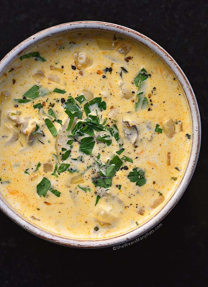 Oyster Stew Recipe  Oyster Stew Recipe