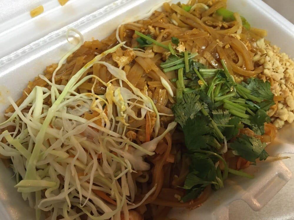 Pad Thai Austin  Pork and shrimp bination pad Thai Yelp