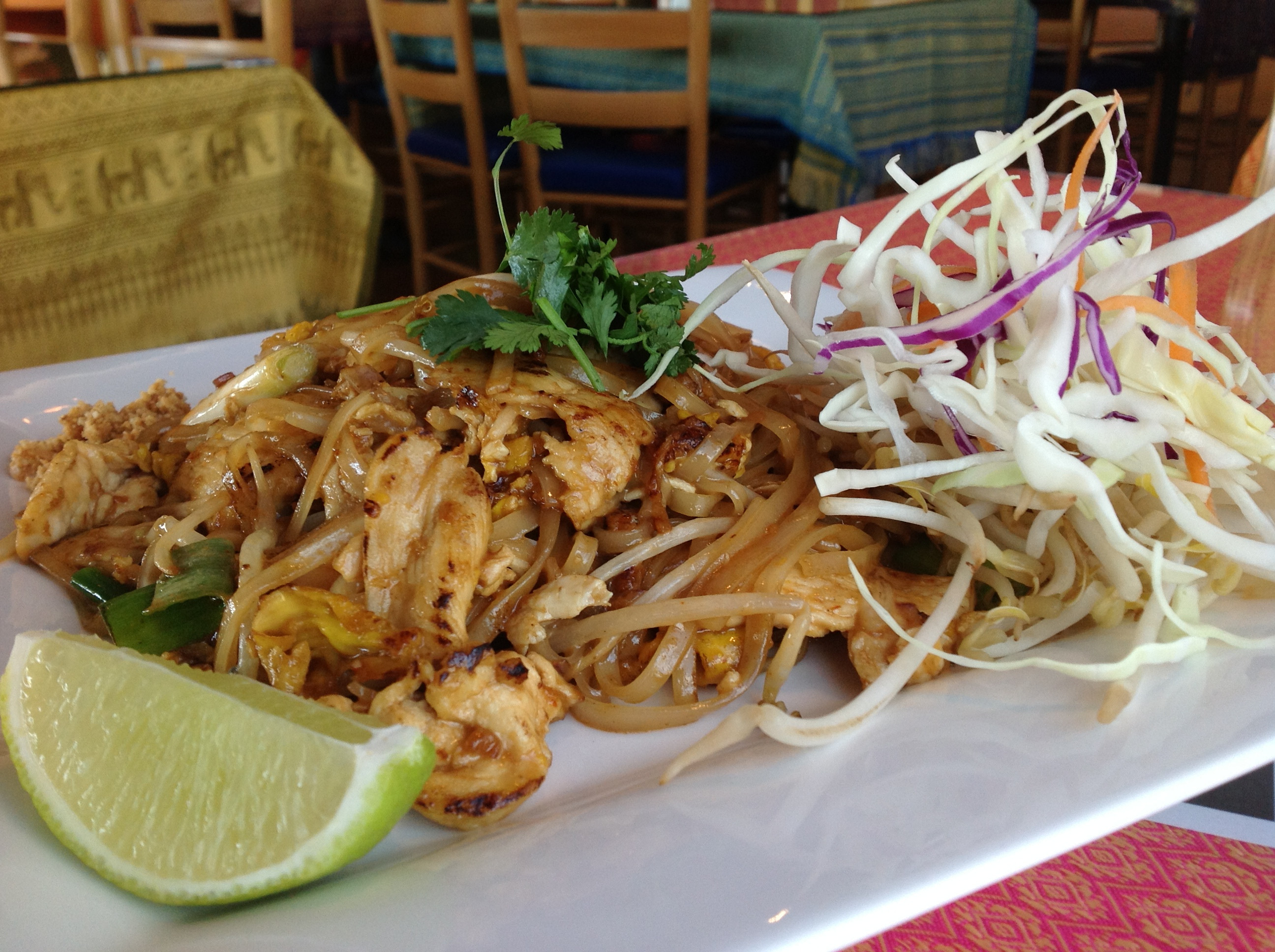 Pad Thai Austin  Thai Cuisine Austin fers plimentary Lunch Bar