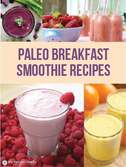Paleo Breakfast Smoothies  Health breakfast ideas