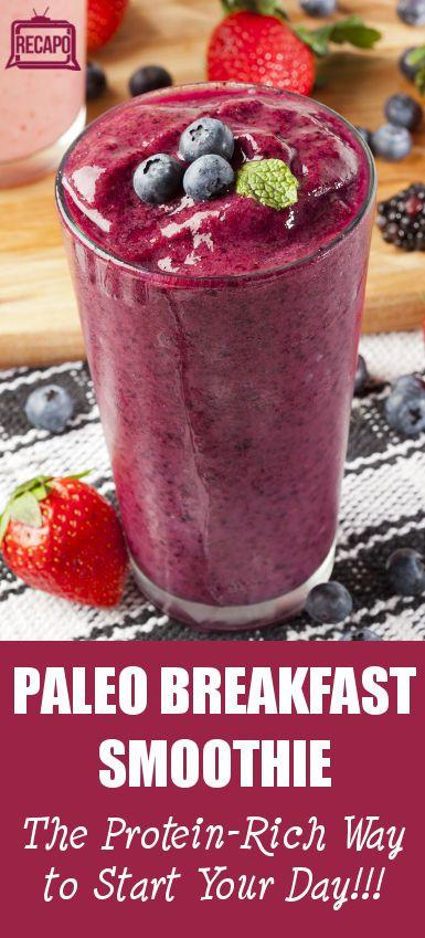 Paleo Breakfast Smoothies  Dr Oz Paleo Breakfast Smoothie Recipe & Paleo Diet Cobb