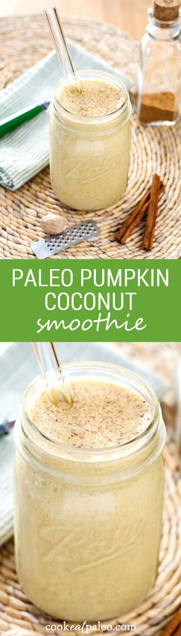 Paleo Breakfast Smoothies  Paleo Pumpkin Coconut Smoothie Recipe