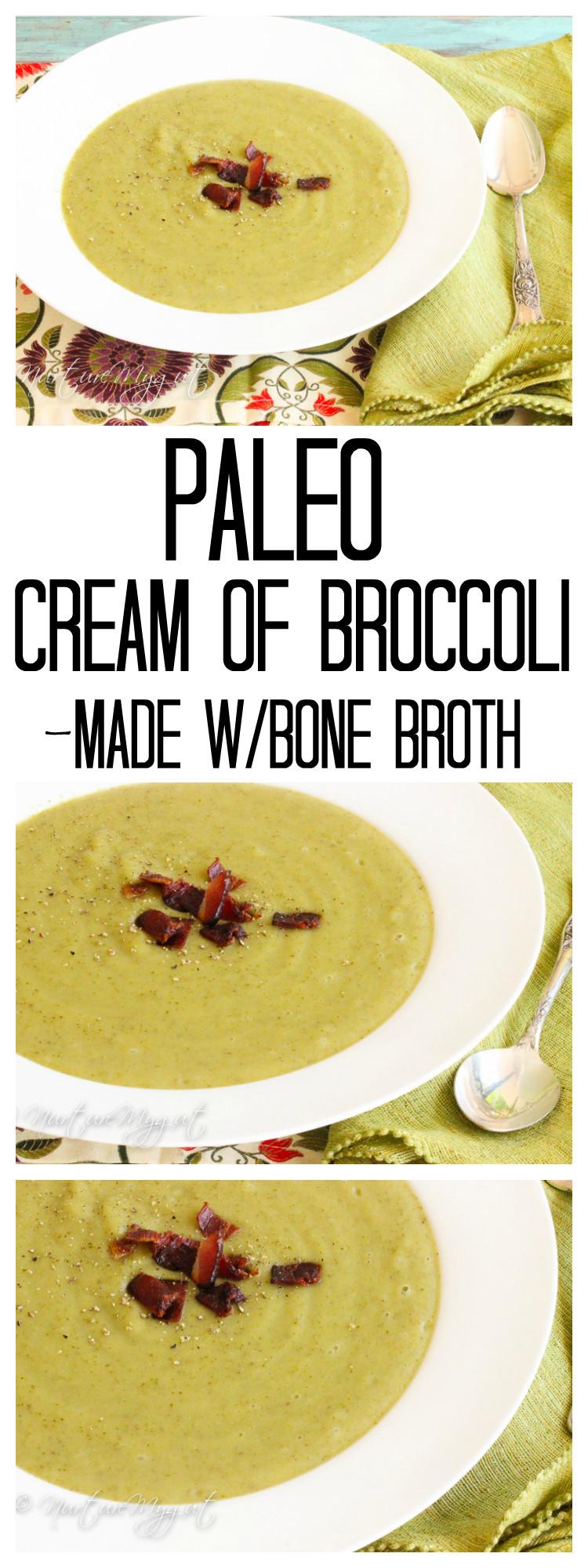 Paleo Broccoli Soup  Paleo Cream of Broccoli Soup