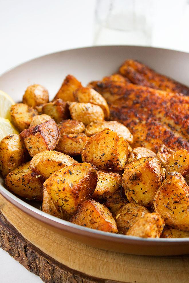 Pan Roasted Potatoes  Pan Roasted Potatoes Recipe Munaty Cooking
