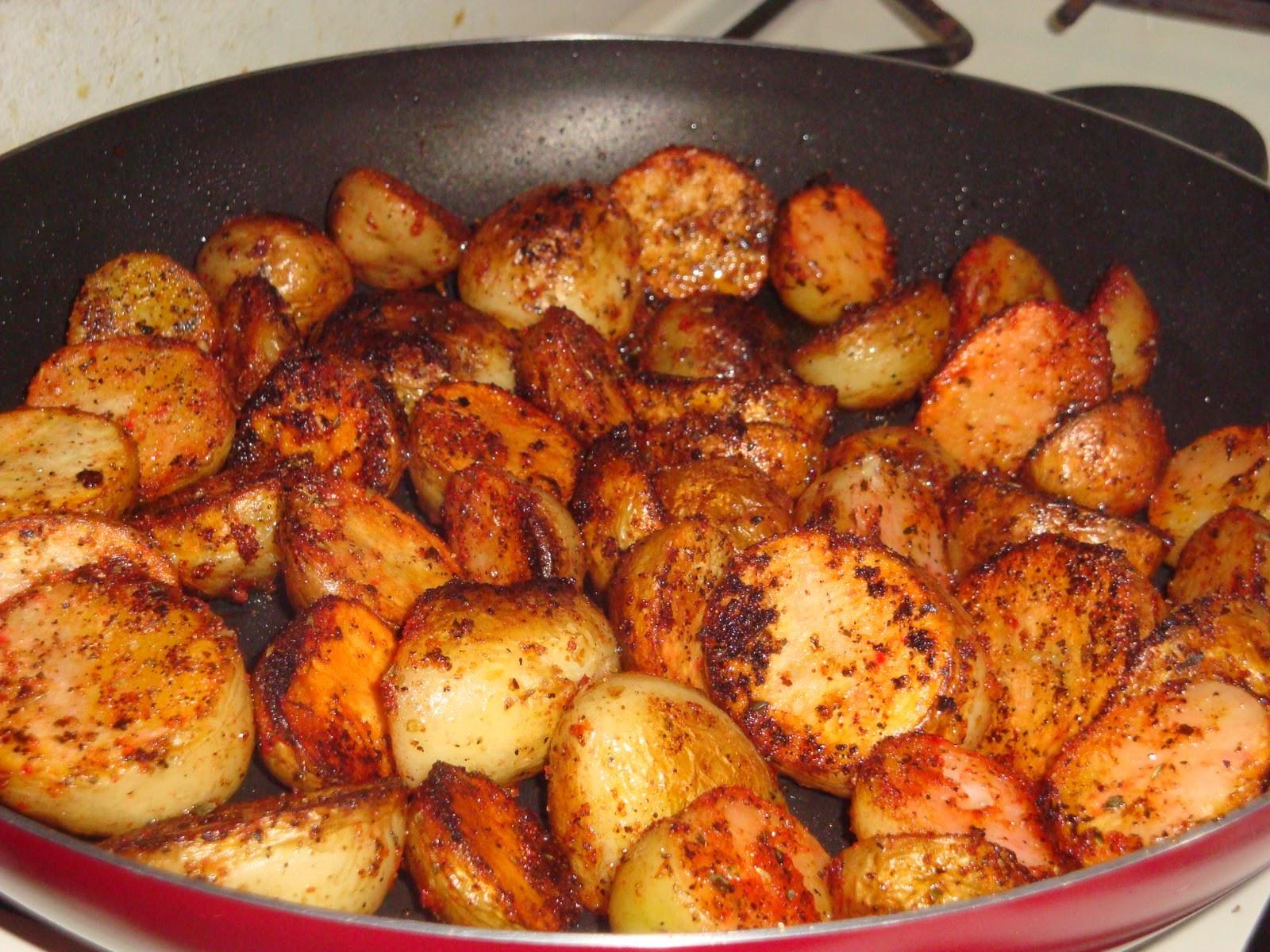 Pan Roasted Potatoes  The Spice Contessa Pan roasted Mini Potatoes