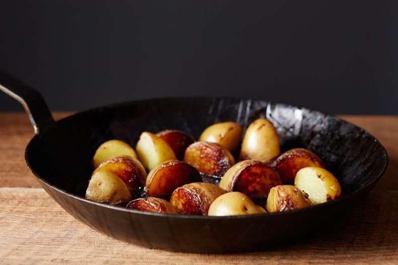 Pan Roasted Potatoes  torrente sanguineo