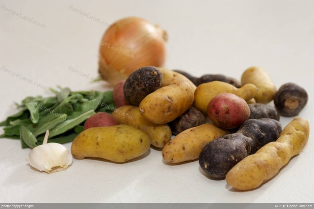 Pan Roasted Potatoes  Pan Roasted Potatoes with Sage Recipe