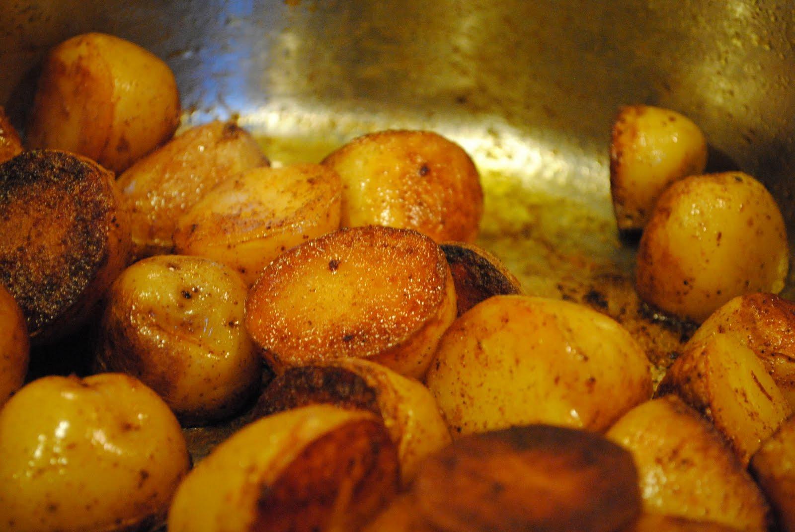 Pan Roasted Potatoes  paprika pan roasted potatoes