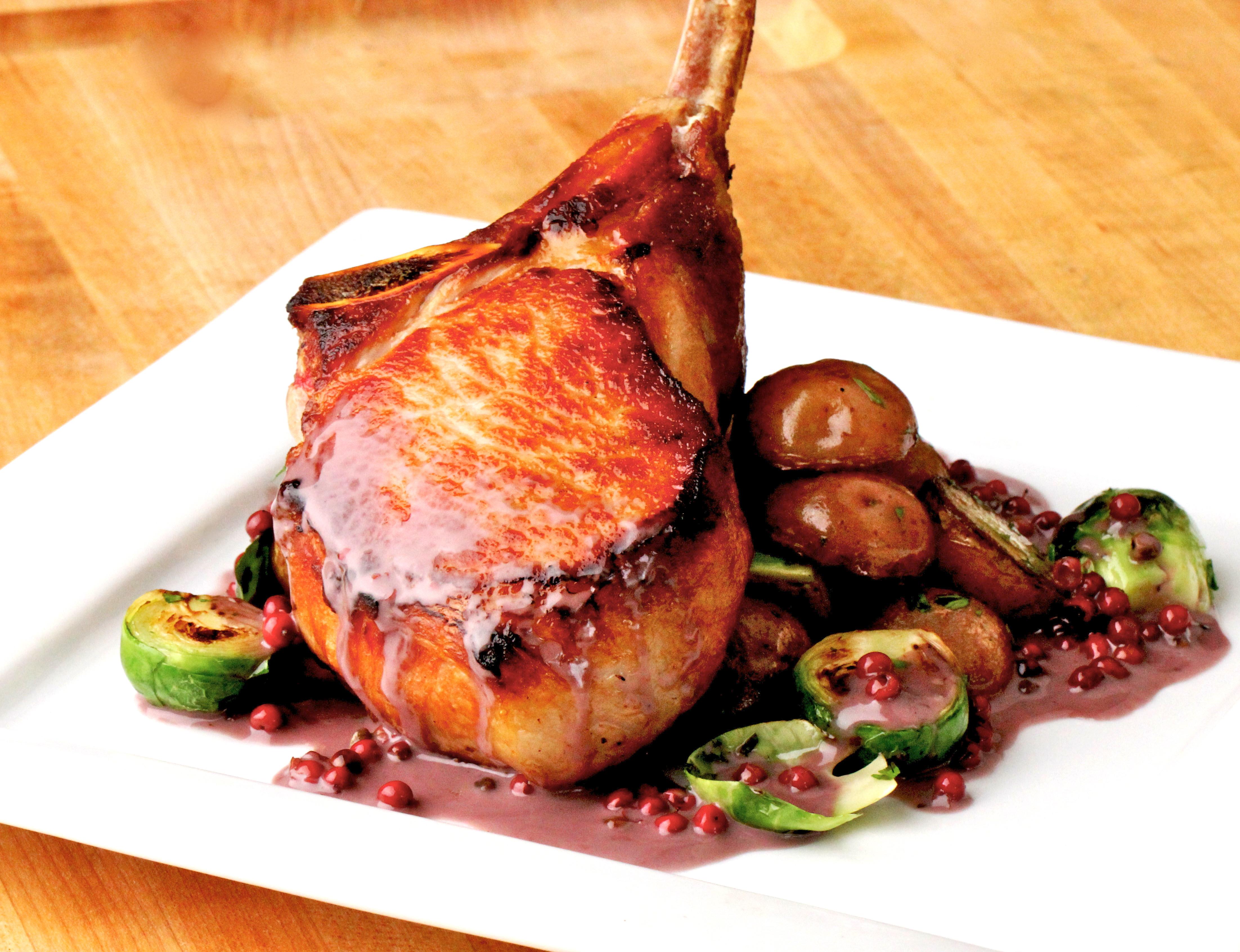 Pan Seared Pork Chops  Pan seared Pork Chops