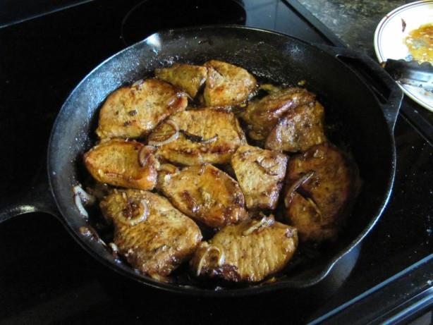Pan Seared Pork Chops  Pan Seared Pork Chops Recipe Food