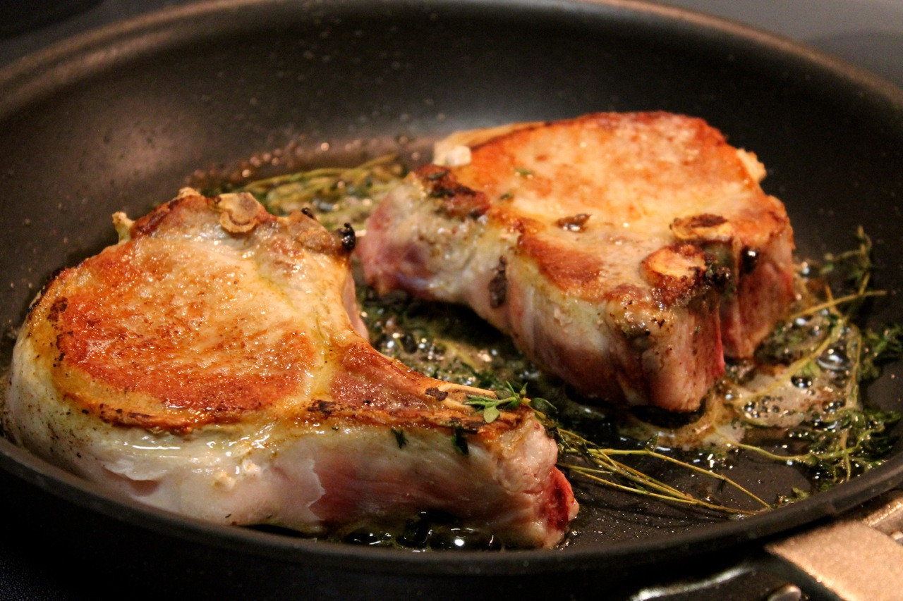 Pan Seared Pork Chops  Cook In Dine Out Recipes to Celebrate Portland Area