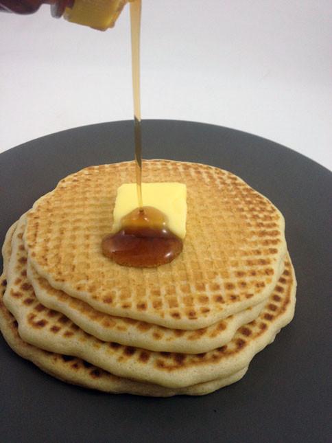 Pancakes And Waffles  Wafflecakes The pancake waffle hybrid