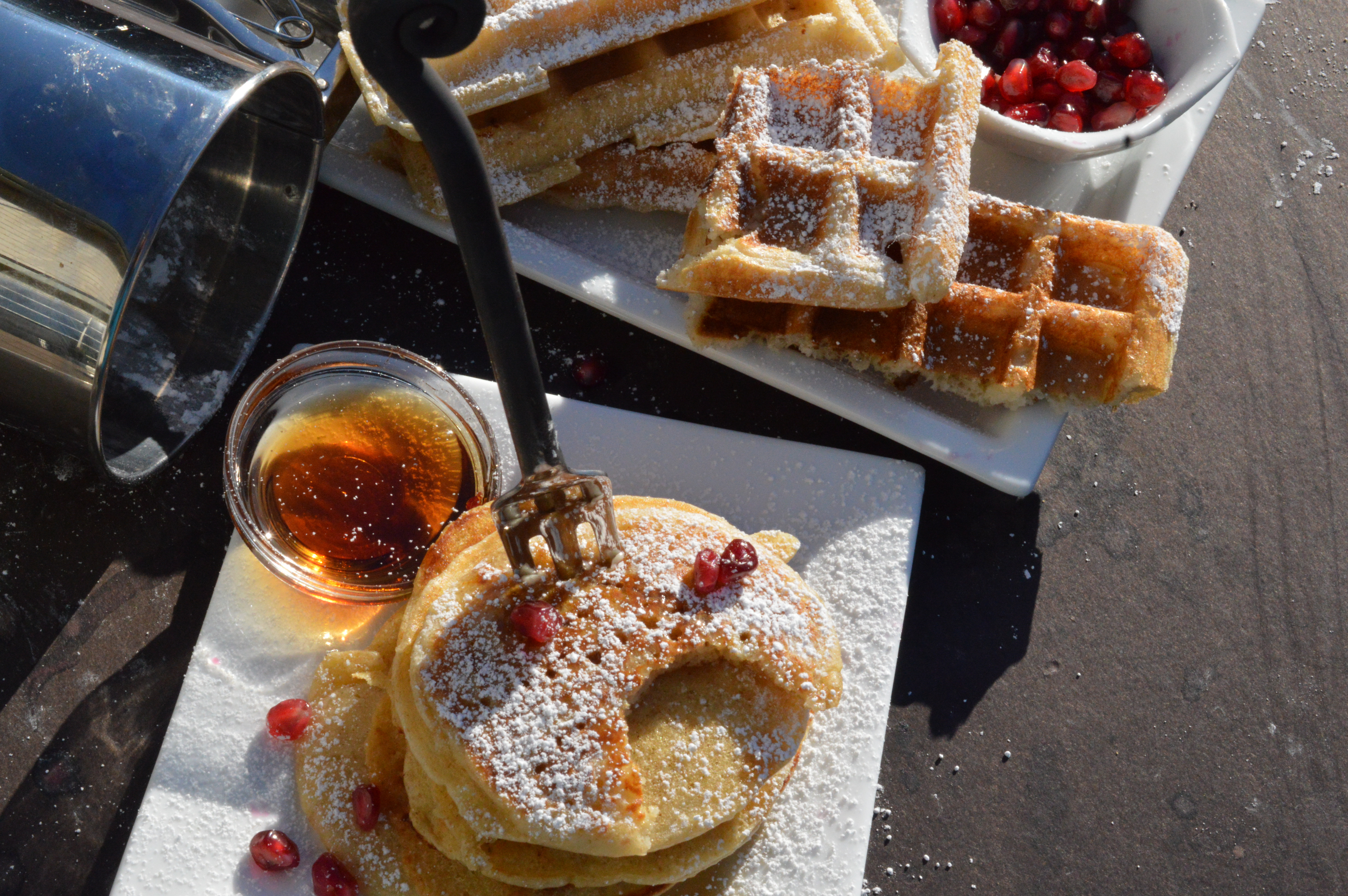 Pancakes And Waffles  Sourdough Pancakes and Waffles