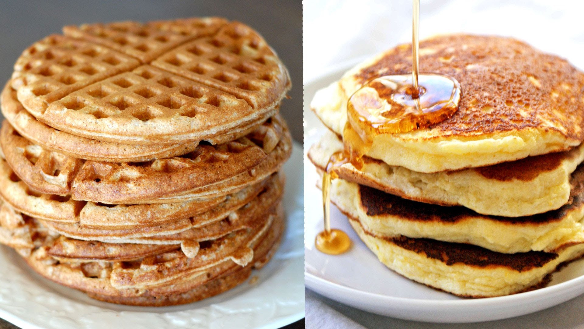 Pancakes And Waffles  Difference Between Waffle And Pancake Which batter is